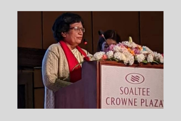 Prof. Timila Yami Thapa as a speaker - Her Journey